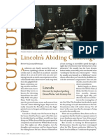 Lincoln's Abiding Challenge