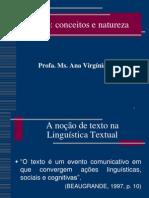 Texto_conceitos e natureza_Of. Lei. e Prod. Textos I._Profa. Ana Virg+¡nia_Aula 04 ,11 e 15 dez 12