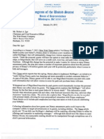 "Congressional Letter to Disney regarding ""MyMagic+"" tracking and privacy"
