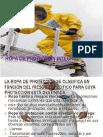 Ropa de protección integral