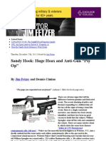 "Sandy Hook- Huge Hoax and Anti-Gun ""Psy Op"" _ Veterans Today"