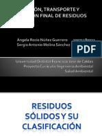 Exposicion RESIDUOS SOLIDOS