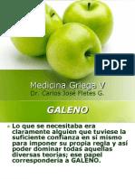 Medicina Griega v Galeno y Enf m