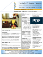 Bulletin Jan 20th, 2013