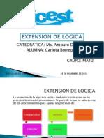 Extension de Logica