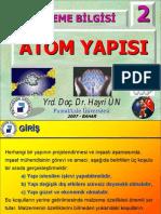 Atom Yapisi