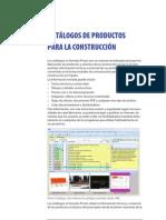 Catálogos de productos para la construcción