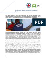 GVI Fiji Achievement Report - Dec 2012 Red Cross DRR