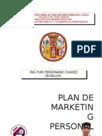 Plan de Marketing Yuri Chavez Zvallos
