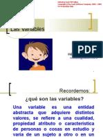 Presentacion Variables