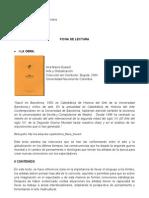 Ficha de lectura Ana María Guasch
