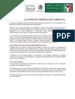 Aplicación del Fondo de Compensación Ambiental