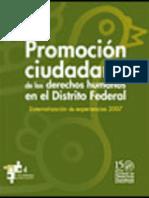 Promoción Ciudadana de los Derechos Humanos en el D.F.