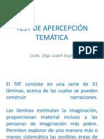 TEST DE APERCEPCIÓN TEMÁTICA