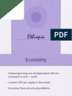 Ethiopia's economy presentation