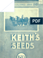 Keith's Seeds 1920 Catalog