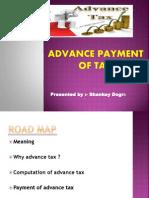 advance tax