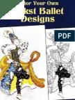 Color Your Own Bakst Ballet Designs