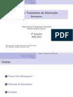 GTI namespaces