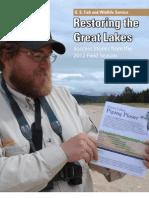 Great Lakes Restoration Initiative Success 2012 Book FWS