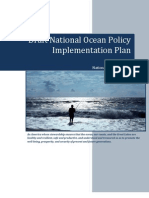 National Ocean Policy Draft Includes Great Lakes Restoration Initiative (GLRI)
