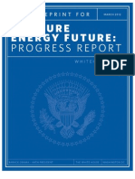 White House Blueprint for a Secure Energy Future - March 2012 One-Year Progress Report