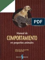 manual del comportamiento de pequeños animales