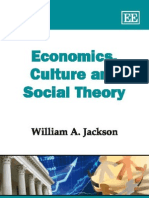 Economics Culture and Social Theory