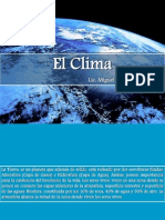 5. El Clima