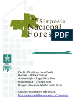 Presentacion 5 Simposio Forestal - Temario