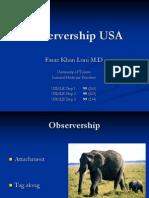 observership