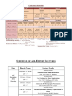 Final Schedule Fmfp