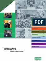 Safety Scope MSA Catalog