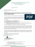 Kursus Kepimpinan Ketua-Ketua Sekawan / Patrol Pengakap kanak-Kanak /  Muda / Remaja