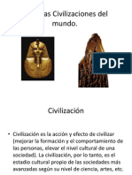 Primeras Civilizaciones Del Mundo