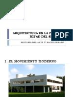 Arquitectura en La Primera Mitad Del Siglo Xx