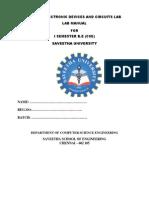 EC3102 Edc Lab Manual