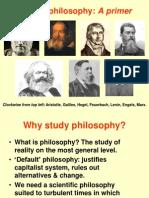 Talk on Marxist philsophy