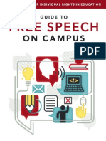 FIRE Guide to Free Speech On Campus