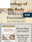Theology of the Body at Oxford University Catholic Chaplaincy