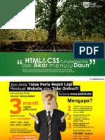 Belajar HTML  & CSS_Dari Akar Ke Daun