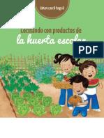 Cocinando Con Productos de La Huerta Escolar