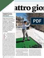 Emmanuel Carrère, uno scrittore a Davos - Internazionale n.983 (18-24 gennaio 2013)