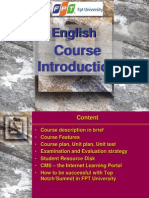English Course Introduction - 2011