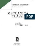 Goldstein, H. - Meccanica Classica (2a Edizione Ita)