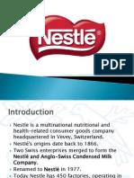 Nestle International Business Presentation
