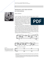 Messiaen and the Notion of Influence (1)