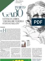 Intervista a Santiago Gamboa su García Márquez, Alvaro Mutis, Roberto Boaño - La Repubblica 25.01.2013