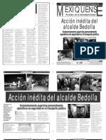 Versión impresa del periódico El mexiquense 25 enero 2013