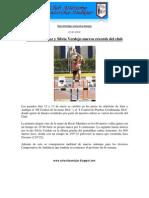 18. Rocío Martinez y Silvia Verdejo nuevos récords del club